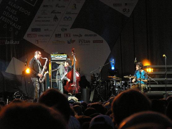 Depart Klaipēdas džeza festivālā