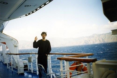 Andrejs Jevsjukovs uz kuģa