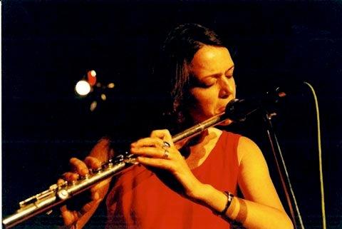 Flautiste Ilona Kudiņa