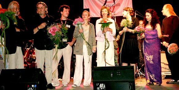Džeza dziedātāja Inga Bērziņa Saulkrastu džeza festivālā