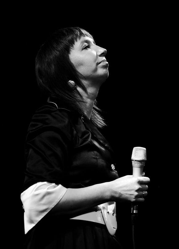 Džeza vokāliste Inga Bērziņa uzstājas Aile Jazz 2008