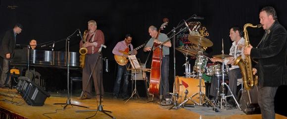 Jam session Jazz Globus festivāla ietvaros