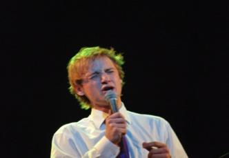 Dziedātājs Daumants Kalniņš