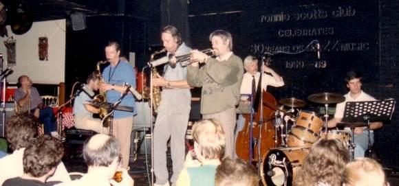 Latvijas džeza mūziķi Ronnie Scottts Club