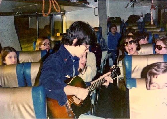 Niks Gothams vidusskolas ekskursijā uz Floridu 1976 g.