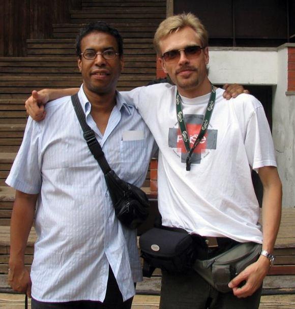 Steve Logan (bass), Viktors Ritovs (piano) - Saulkrasti jazz 2004
