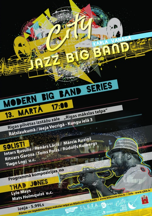 Modern Big Band Series - flyer