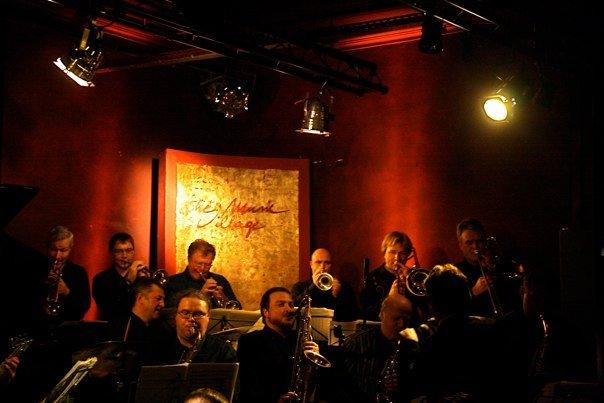 mirrage jazz orchestra koncertā
