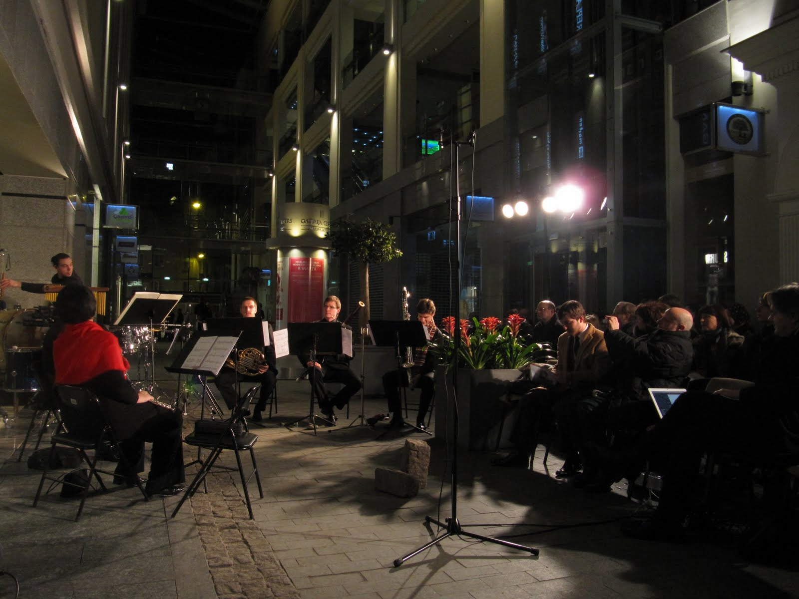 Latvijas Jaunās Mūzikas Dienas 2010 atklāšana