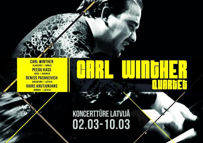 Carl Winther Quartet koncertēs Latvijā