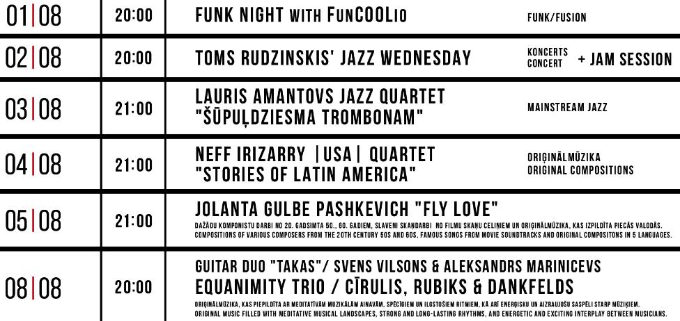 paskevich jazz club